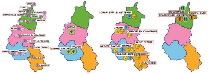 Où nous retrouver sur les territoires de la Champagne-Ardenne ?