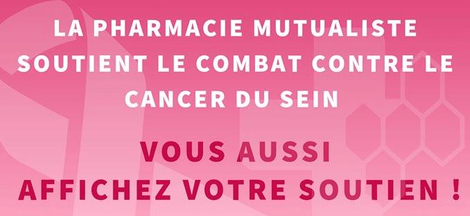 OCTOBRE ROSE : La pharmacie mutualiste de Reims soutient le combat contre le cancer du sein