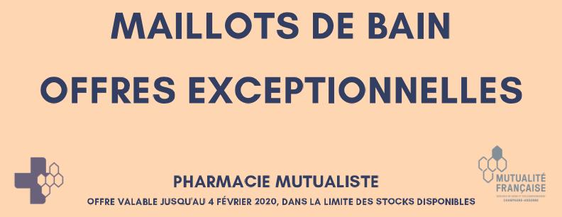 OFFRES EXCEPTIONNELLES : MAILLOTS DE BAIN AMOENA